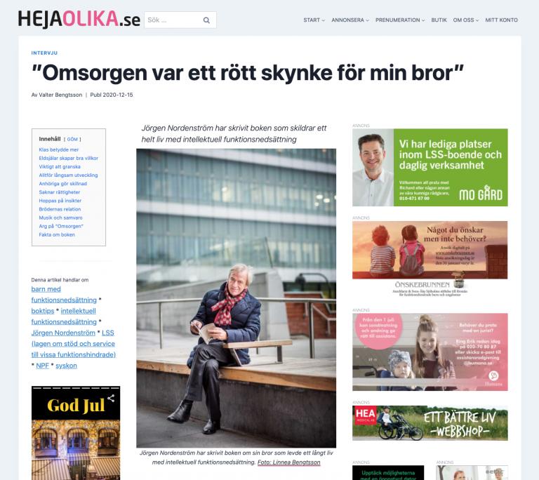 Intervju Jörgen Nordenström